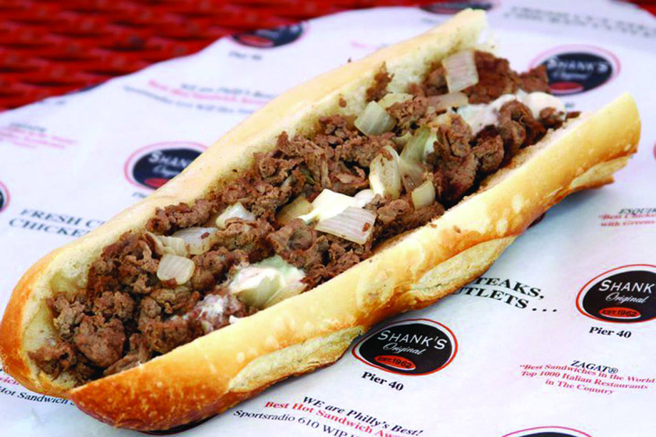 the cheesesteak at Shank's Original
