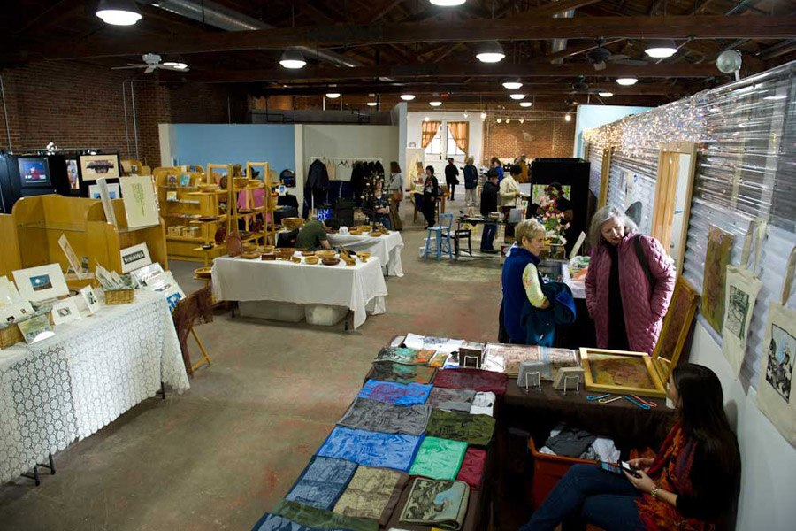 Mt. Airy Art Garage Holiday Art Market