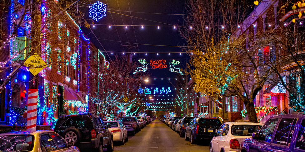 credit m fischetti for visit philadelphia - Holiday Christmas Lights