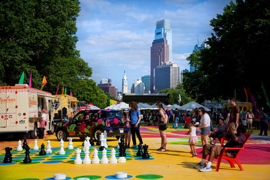 Chess at The Oval (Photo by M. Fischetti at Visit Philadelphia)